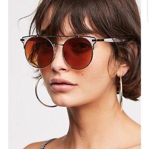 Free People Coco Loco Aviator sunglasses